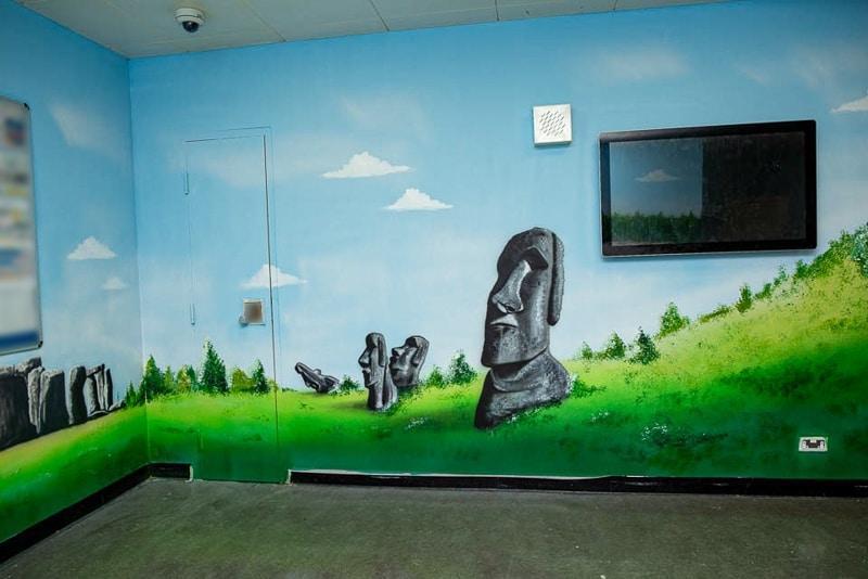 aku tongariki mural blog