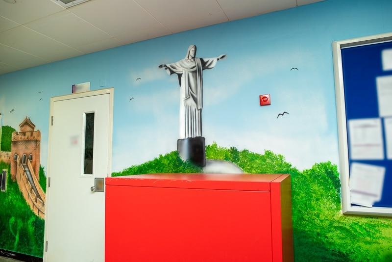 jesus rio painted mural blog