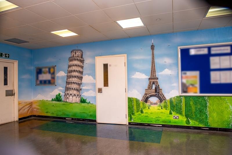 Office wall murals