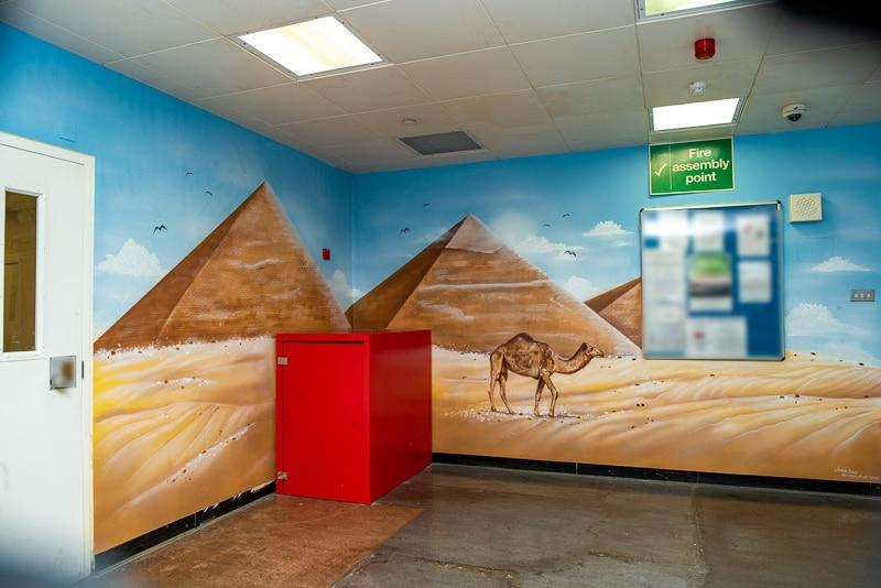 painted pyramids mural blog