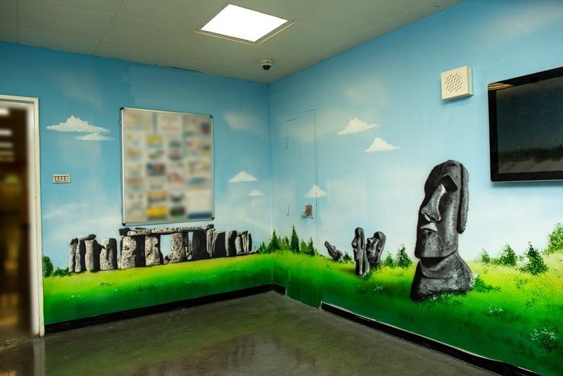 stonehenge mural blog