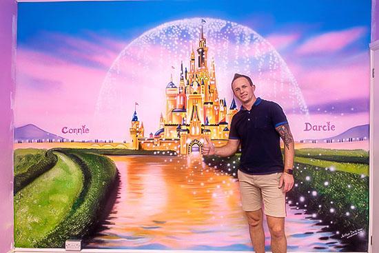 Disney Castle murals prices