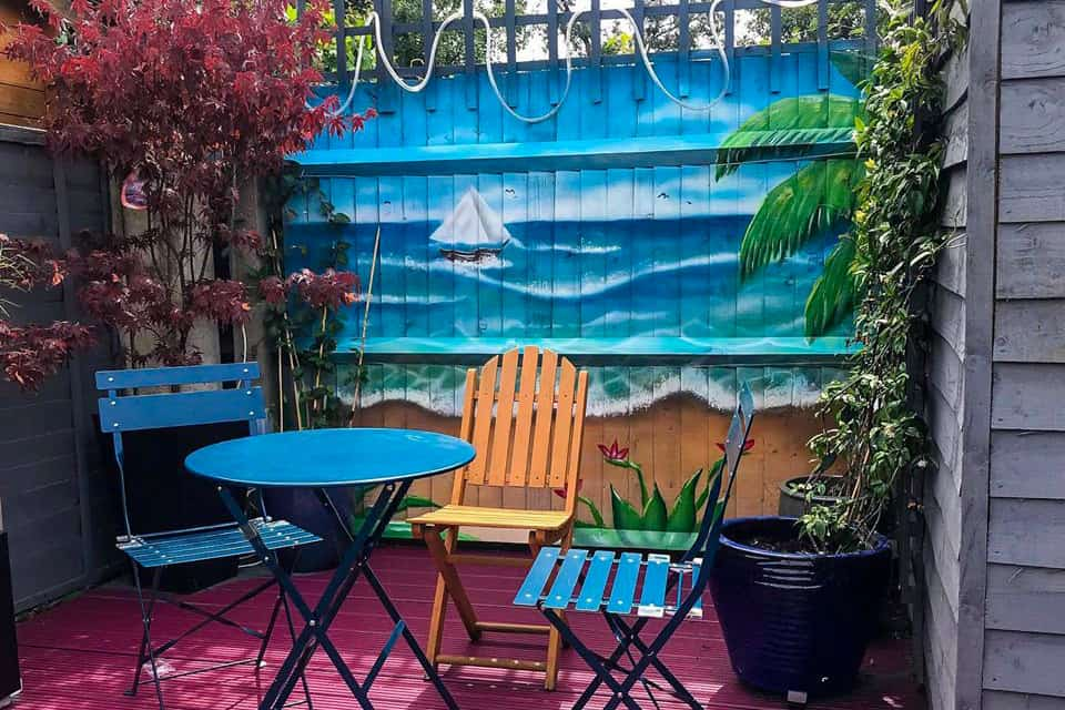 Amazing murals for your Garden