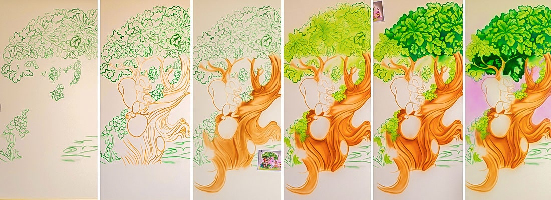 mural painting process 04