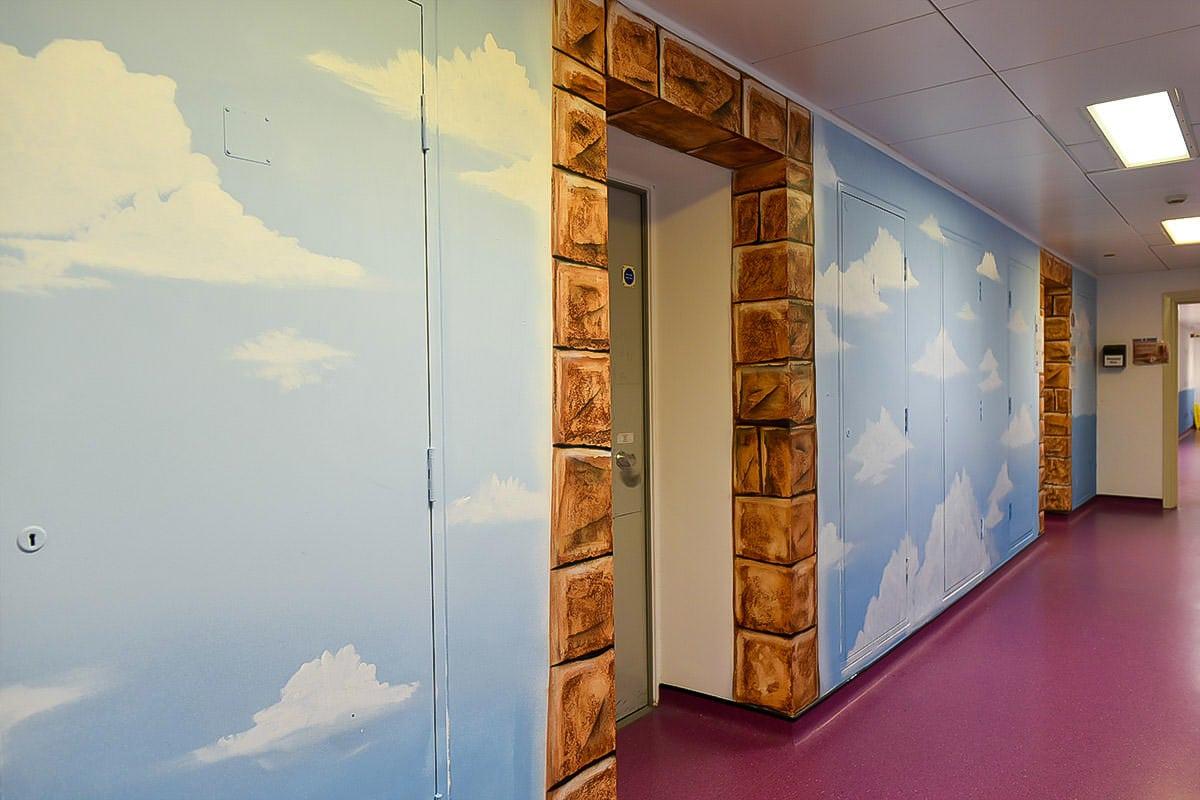 painted murals faith corridor full 1